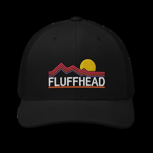 Fluffhead Mountains YEM Tree Trucker Cap | Flat Embroidery | Phish Inspired Art