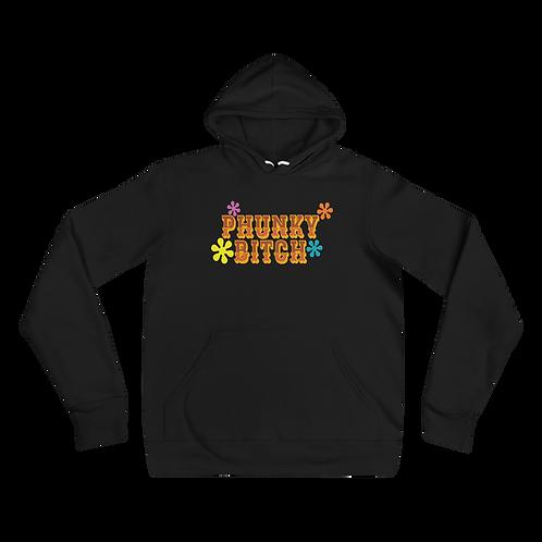 Phunky Btich Retro Bella+Canvas Premium Unisex hoodie