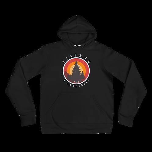 Listen To The Silent Trees Bella+Canvas Premium Unisex hoodie