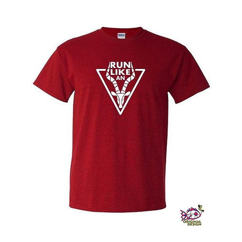 Run Like An Antelope Shirt | Gildan Heavy Cotton