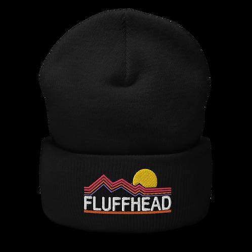 Fluffhead Cuffed Beanie   Flat Embroidery   Inspired Phish Phan Art