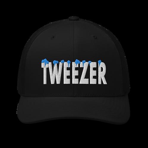 Tweezer Cold Trucker Cap   Flat Embroidery   Inspired Phan Art Cap