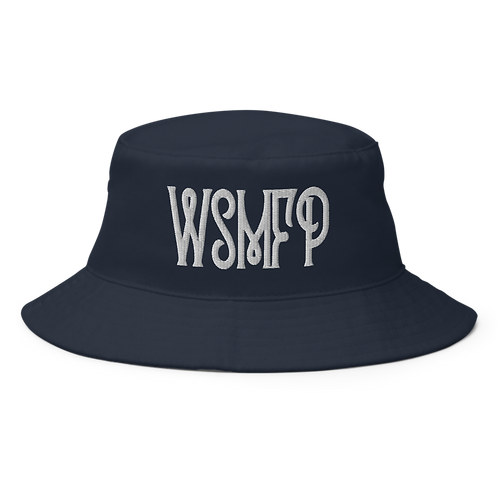 WSMFP Bucket Hat | Flat Embroidery | Inspired Panic Art