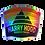 "Thumbnail: Harry Hood Where Do You Go? Holographic Sticker  3""x2.5"""