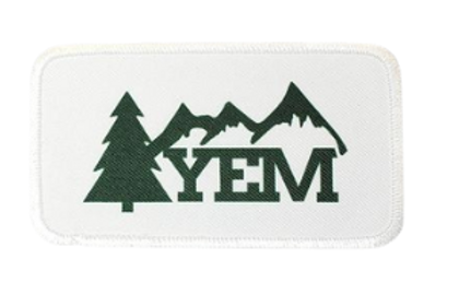 YEM Mountains Printed Patch