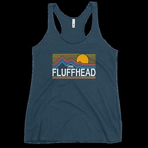 Fluffhead Women's Racerback Tank Top | Next Level 6733