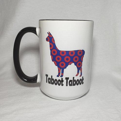 15oz Ceramic Llama Taboot Taboot Coffee Mug