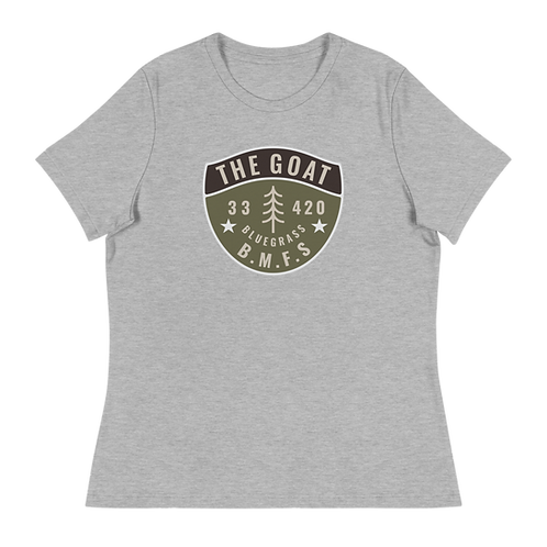 The Goat 33 BMFS Women's Relaxed T-Shirt   Bella + Canvas 6400