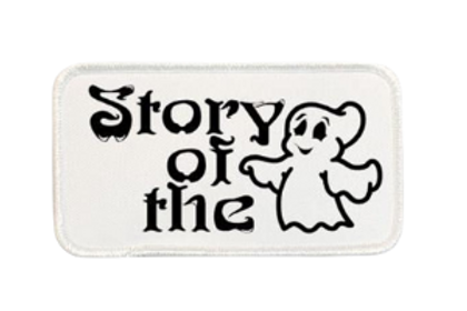 Story Of The Ghost Printed Patch