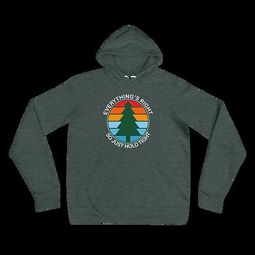 Everything's Right Bella+Canvas Premium Unisex hoodie