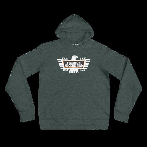 Fly Famous Mockingbird Bella+Canvas Premium Unisex hoodie | Phan  Art | DTG