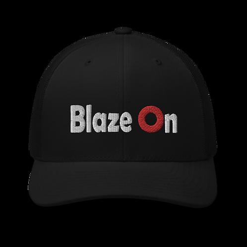 Blaze On Donut Trucker Cap | Flat Embroidery | Phish Inspired Art