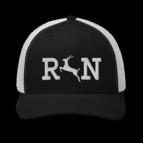 Antelope Run Trucker Cap | Flat Embroidery | Phish Inspired Art