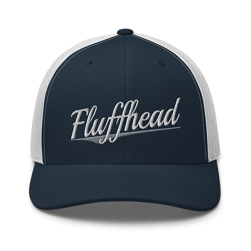 Fluffhead Trucker Cap   Flat Embroidery   Phish Inspired Art