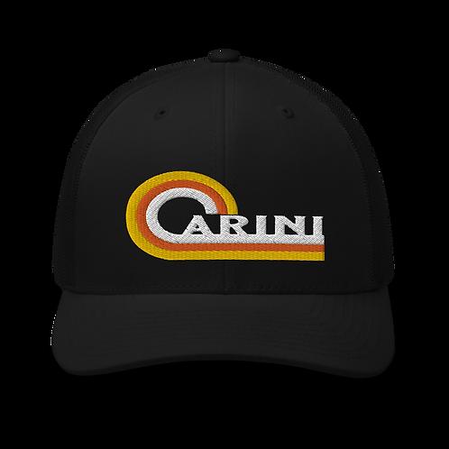 Carini Retro Trucker Cap   Flat Embroidery   Inspired Phan Art Cap   Lot  Cap
