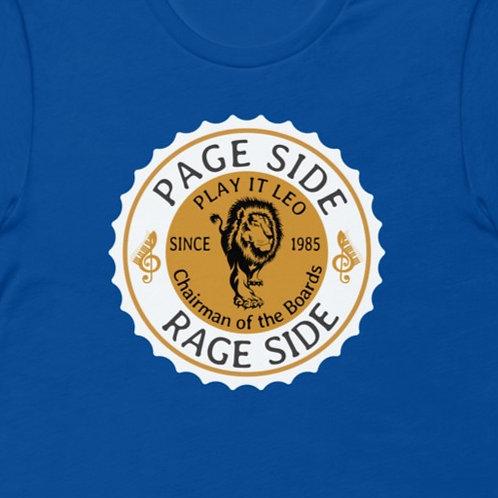 Page Side Rage Side   Bella + Canvas Premium cotton   Short Sleeve