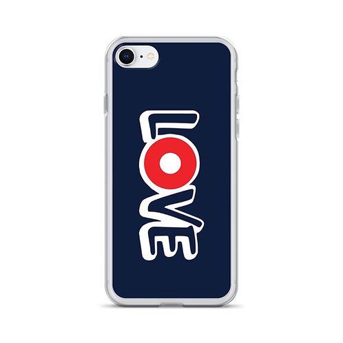 LOVE Red Donut  iPhone Case