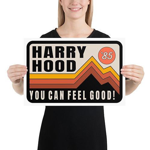 "Harry Hood 12""x18"" Poster | Giclée Print"