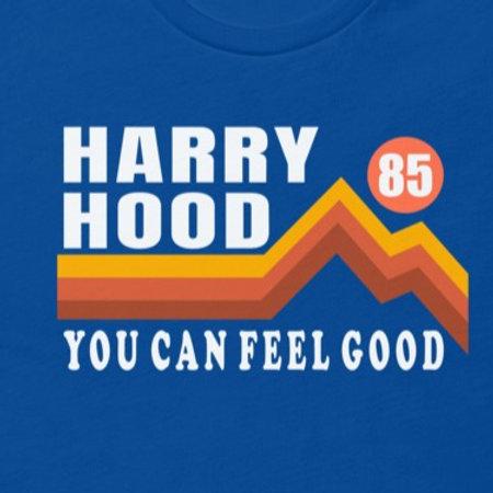 Harry Hood 1985   Bella + Canvas Premium cotton   Short Sleeve