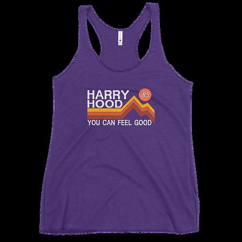 Harry Hood Retro Women's Racerback Tank Top | Next Level 6733