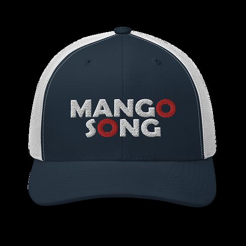 Mango Song Red Donut Trucker Cap | Flat Embroidery | Phish Inspired Art