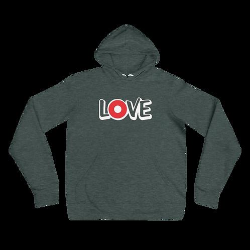 Love Donut Bella+Canvas Premium Unisex hoodie