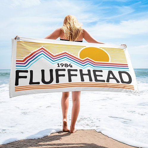 "Fluffhead Beach Towel   30""x60"""
