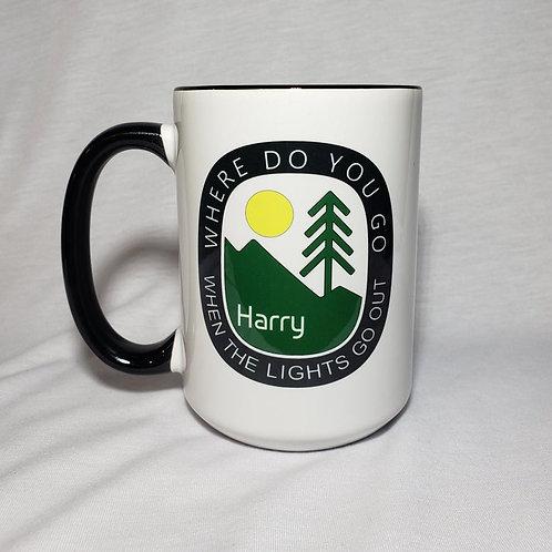 15oz Ceramic Where Do You Go Harry Hood Coffee Mug