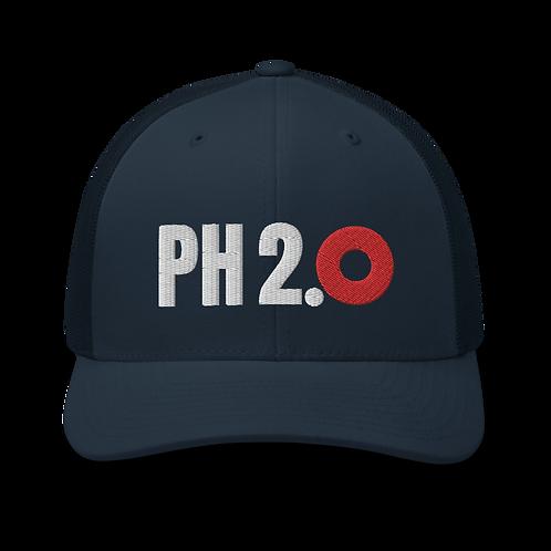 Phish 2.0 Red Donut Trucker Cap | Flat Embroidery | Phish Inspired Art