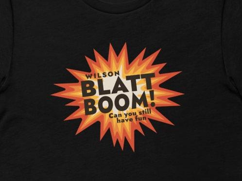 Blatt Boom! Wilson   Bella + Canvas Premium cotton   Short Sleeve
