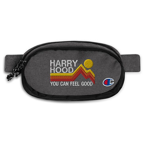 Harry Hood Feel Good Champion fanny pack | Flat Embroidered