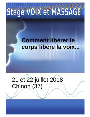 Stage d'été animé par Emmanuelle Pasquier, spécialiste en techniques vocales, et moi-même ! Cont