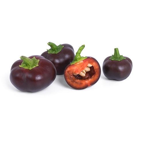 Mini Pimentos Chocolate Orgânicos Lingots® - Mini Legumes