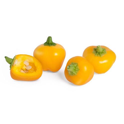 Mini Pimentos Amarelos Orgânicos Lingots® - Mini Legumes
