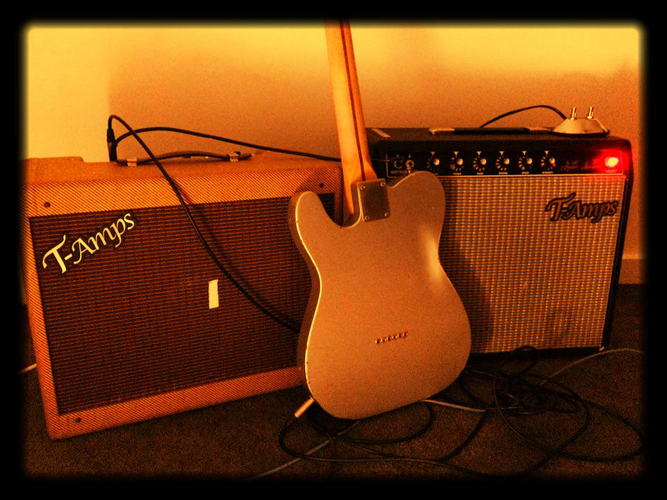 """Brand new """"T Amps"""" Danny Stain Signature model guitar amps."""