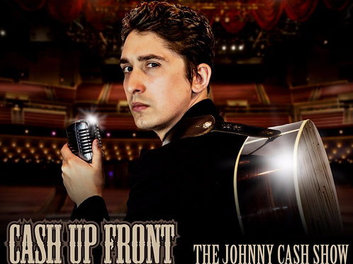"""""""Cash Up Front"""" The Johnny Cash tribute CD"""