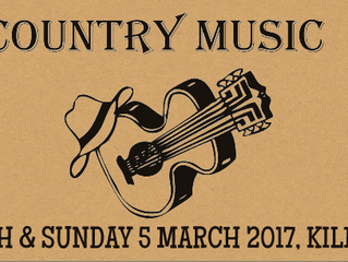 Danny Stain at 2017 Tamworth & Kilmore Country Music Festival's