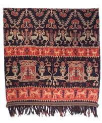 Ikat cloth (hinggi)
