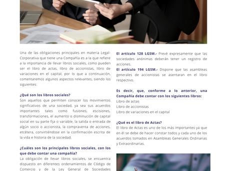 PRINCIPALES LIBROS SOCIALES