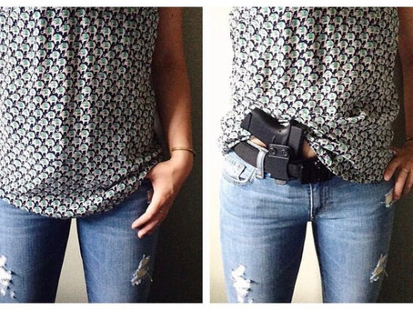 For the Ladies: About Your CCW (carrying a concealed weapon)