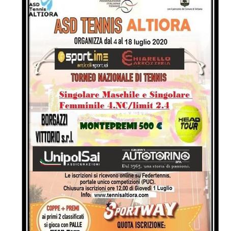 TORNEO ASD TENNIS ALTIORA