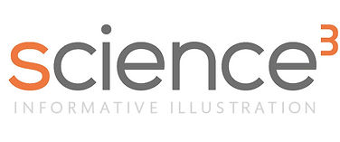 Science 3 Logo for Science Illustration