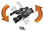 Câmera Tilt