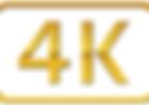 A resolução 4K