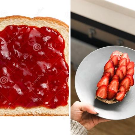 Revisit your breakfast toast