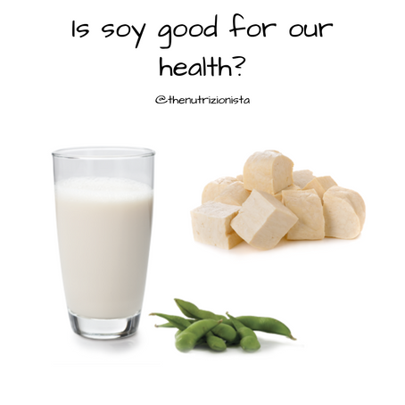 Is Soy healthy for us?