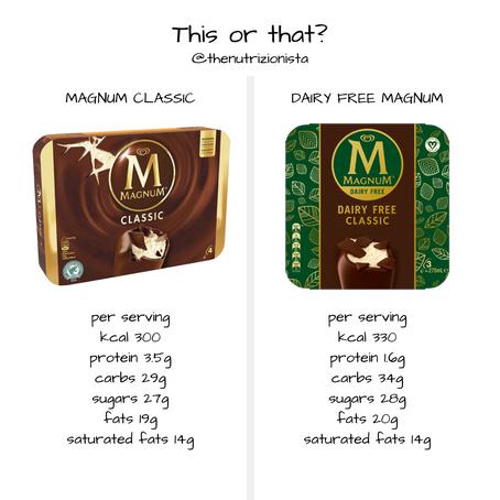 This or That? Classic Magnum or Vegan Magnum