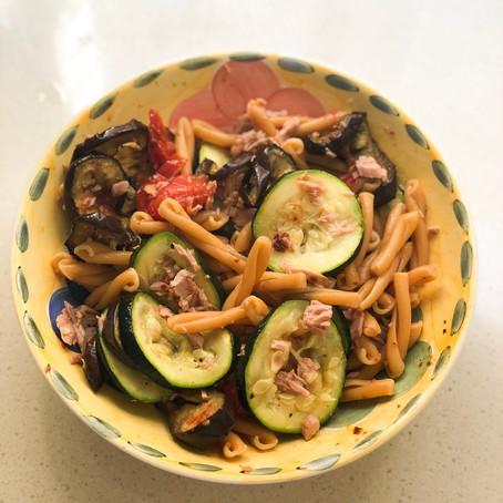 Chickpea Caserecce Salad