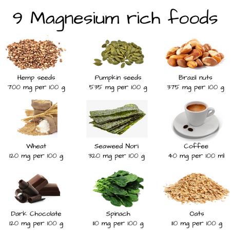 9 Magnesium-rich foods