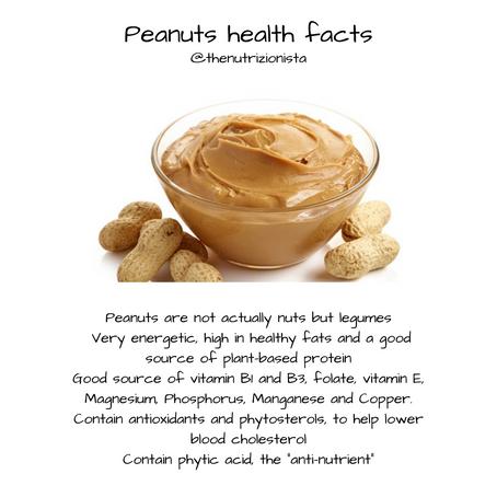 Peanuts Health Facts